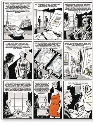 Illustration Comic Fur Capital